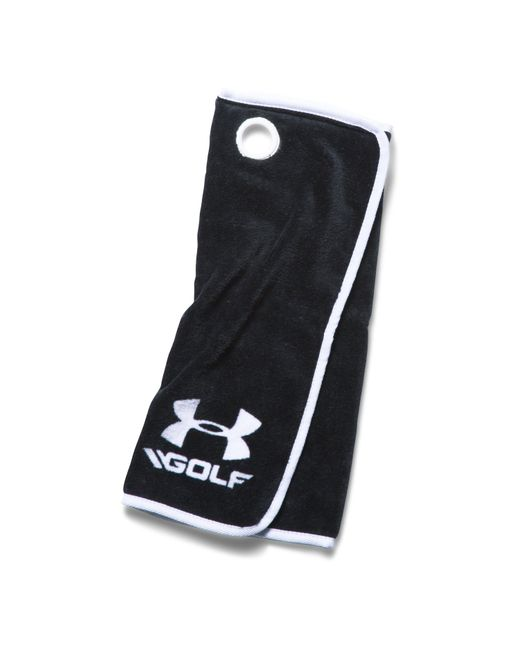 Under Armour - Black Ua Golf Towel for Men - Lyst