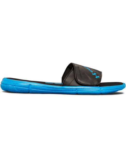 Under Armour | Blue Men's Ua Ignite Water Friendly Slides for Men | Lyst
