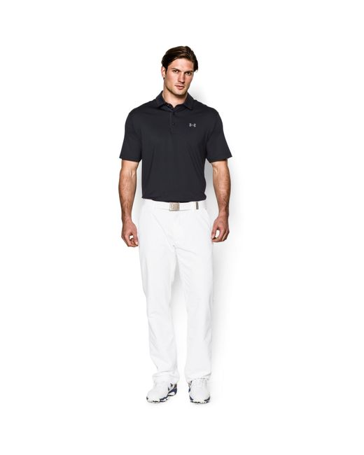 Under Armour - Black Men's Ua Playoff Polo for Men - Lyst