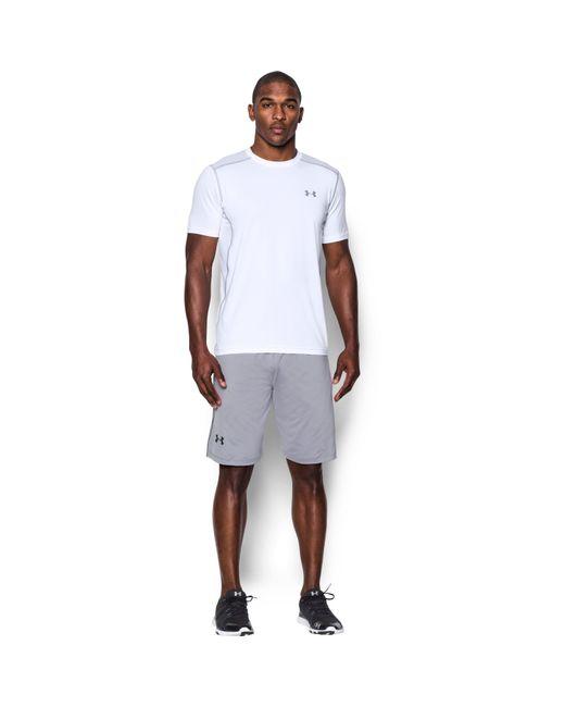 Under Armour - White Men's Ua Raid Short Sleeve T-shirt for Men - Lyst