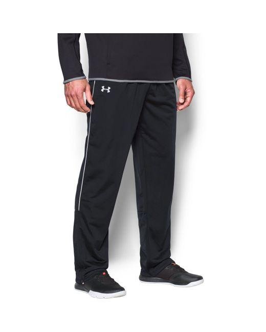 Under Armour | Black Men's Ua Rival Knit Warm-up Pants for Men | Lyst