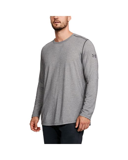 Under Armour | Gray Men's Ua Threadbornetm Long Sleeve for Men | Lyst