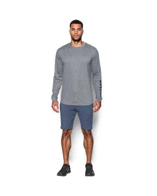 Under Armour | Gray Men's Ua Sportstyle Long Sleeve T-shirt for Men | Lyst