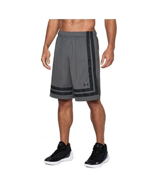 "Under Armour - Black Men's Ua Baseline 10"" Shorts 18 for Men - Lyst"