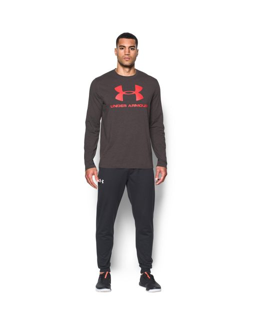 Under Armour | Gray Men's Ua Sportstyle Long Sleeve T-shirt for Men | Lyst