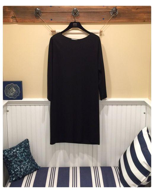 Harris Wharf London - Geometric Dress Light Viscose - Black - Lyst
