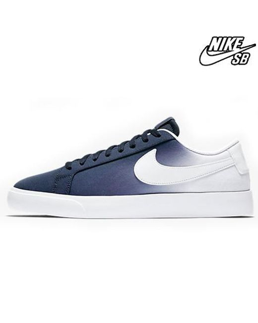 d1ad0d180846 Nike Blazer Low Vapor Txt in Blue for Men