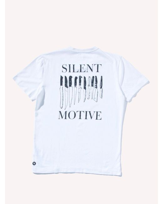 Tim Coppens - White Knives T-shirt for Men - Lyst