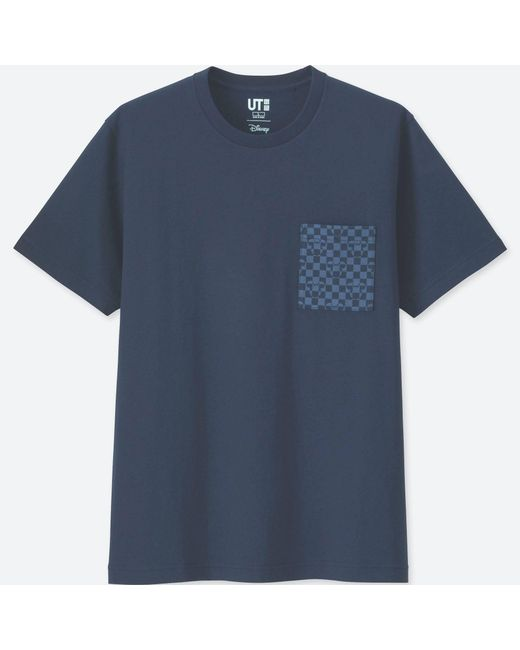 Uniqlo - Mickey Blue Short-sleeve Graphic T-shirt for Men - Lyst