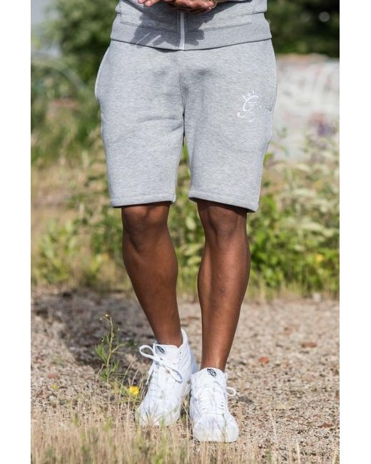 Gym King - Gray Fleece Shorts for Men - Lyst