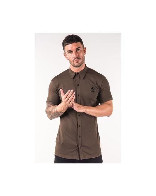 Gym King - Brown Jersey Shirt for Men - Lyst