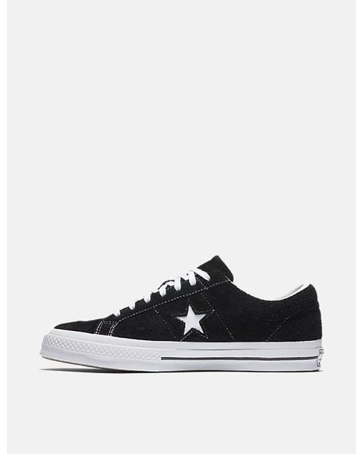 ca2cf974b3c6 Lyst - Converse One Star 74 in Black for Men - Save 49%