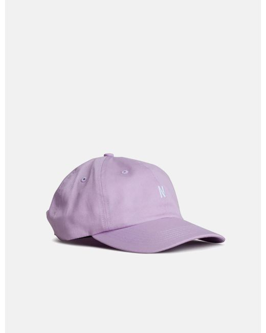 Norse Projects - Purple Light Twill Sports Cap for Men - Lyst