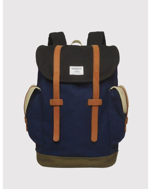 Sandqvist - Multicolor Vidar Backpack for Men - Lyst