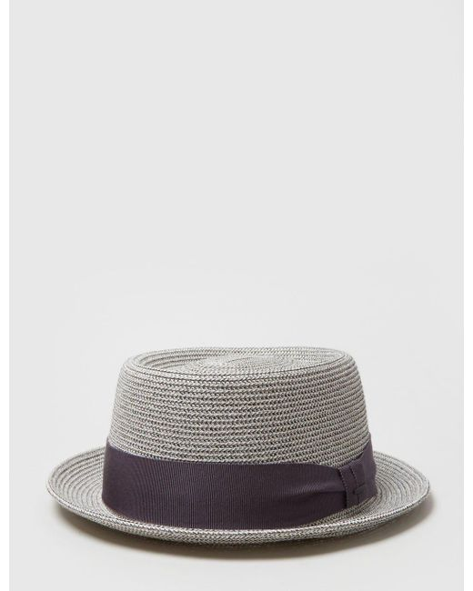 Bailey of Hollywood | Gray Bailey Waits Pork Pie Hat for Men | Lyst