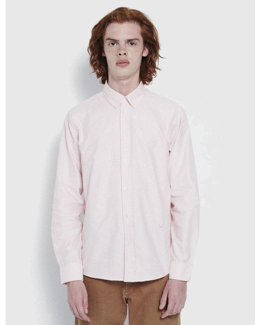 Soulland - Pink Goldsmith Shirt for Men - Lyst