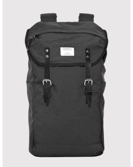 Sandqvist - Gray Hans Backpack (cordura) for Men - Lyst