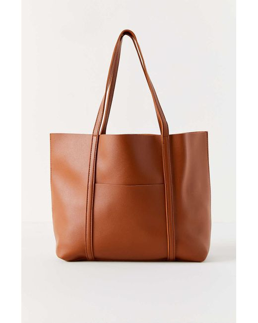 556dc9d916 ... Urban Outfitters - Brown Danielle Carry-all Tote Bag - Lyst ...