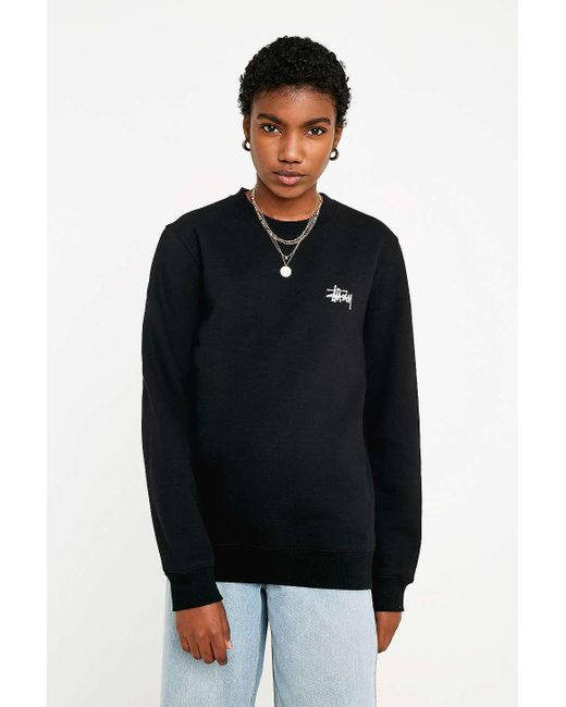 f1ec03b2ac932 Stussy - Black Basic Logo Long-sleeve T-shirt - Womens Xs - Lyst ...