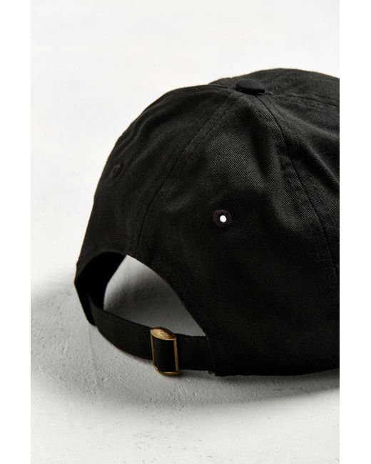 3bda5edcca6 ... Urban Outfitters - Black Uo Curved Brim Baseball Hat for Men - Lyst ...