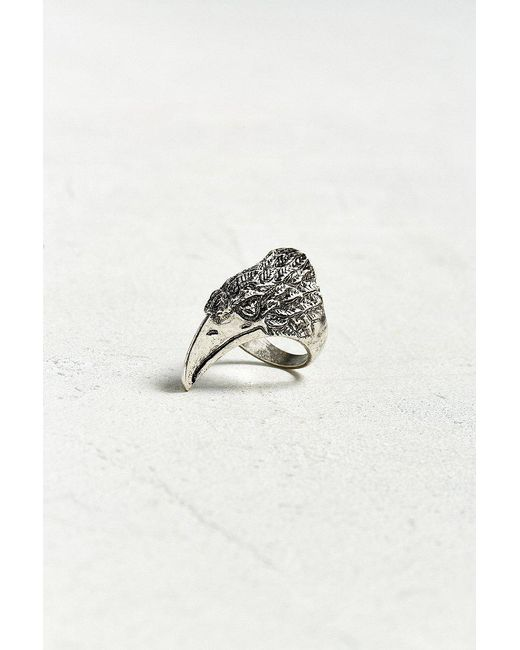 Urban Outfitters   Metallic Raven Ring   Lyst