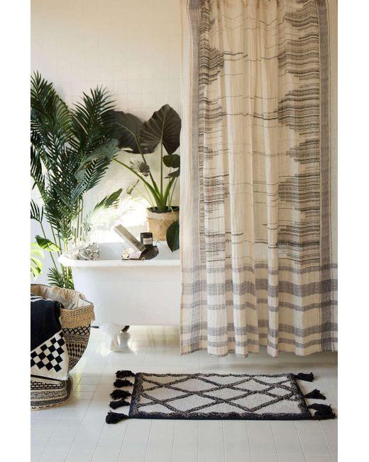 Urban Outfitters Inga Gauze Shower Curtain For Men