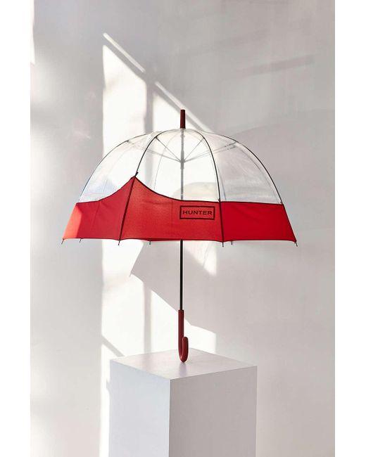 HUNTER   Red Original Bubble Umbrella   Lyst