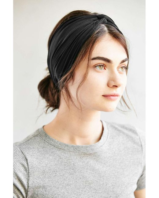 Urban Outfitters | Black Crisscross Bella Headwrap | Lyst