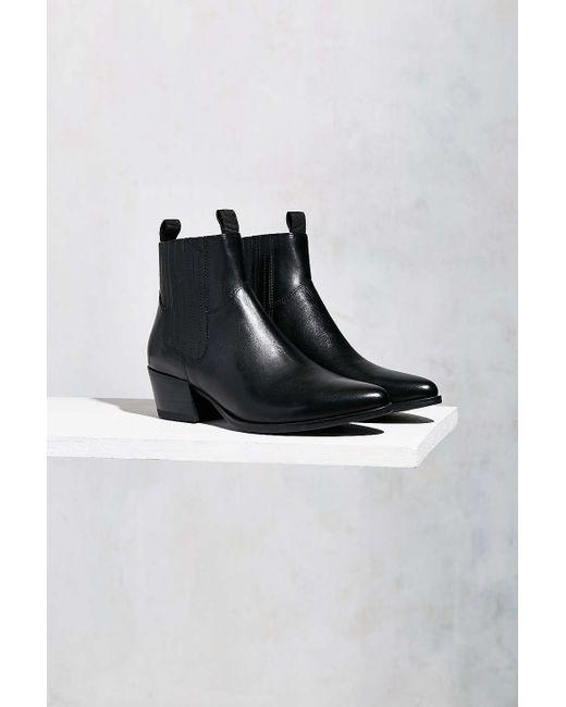 vagabond mandy western chelsea boot in black lyst. Black Bedroom Furniture Sets. Home Design Ideas