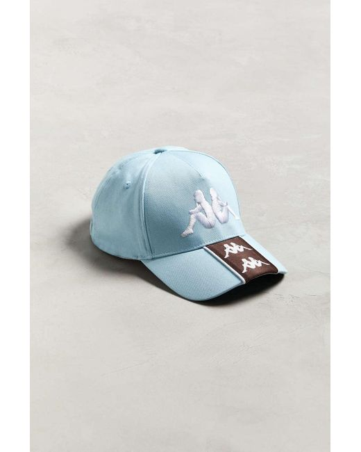ef5edbf534094 Kappa - Blue Banda Baset Baseball Hat for Men - Lyst ...
