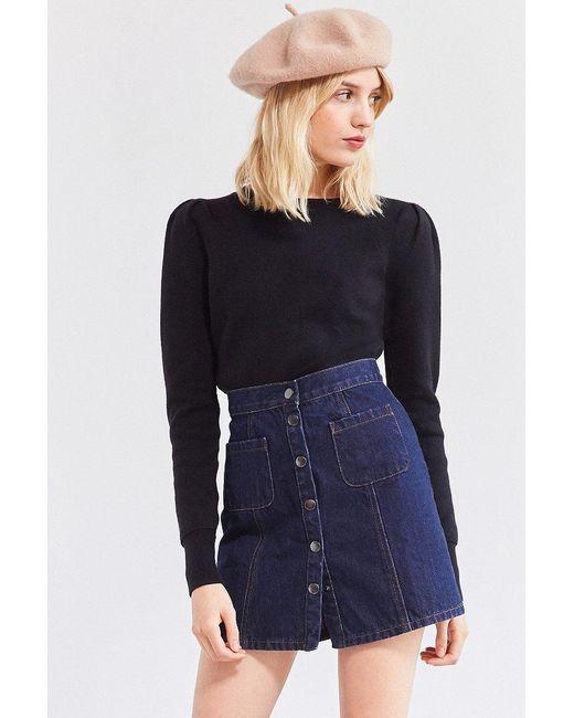 Kimchi Blue | Black Bella Pullover Sweater | Lyst