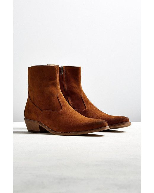 Shoe The Bear   Brown Enzo Suede Boot for Men   Lyst
