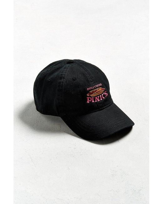 Urban Outfitters   Black Hollywood Pink's Dad Hat for Men   Lyst