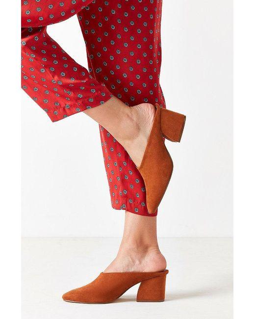 Urban Outfitters | Brown Marta Mule Heel | Lyst