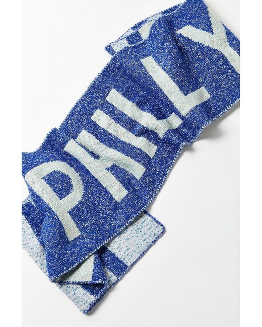 Urban Outfitters | Blue City Intarsia Soccer Scarf | Lyst