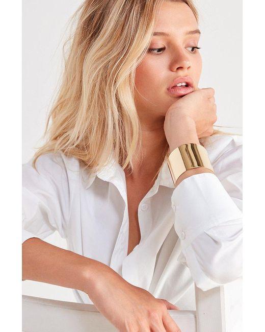 Urban Outfitters | Metallic Statement Cuff Bracelet | Lyst