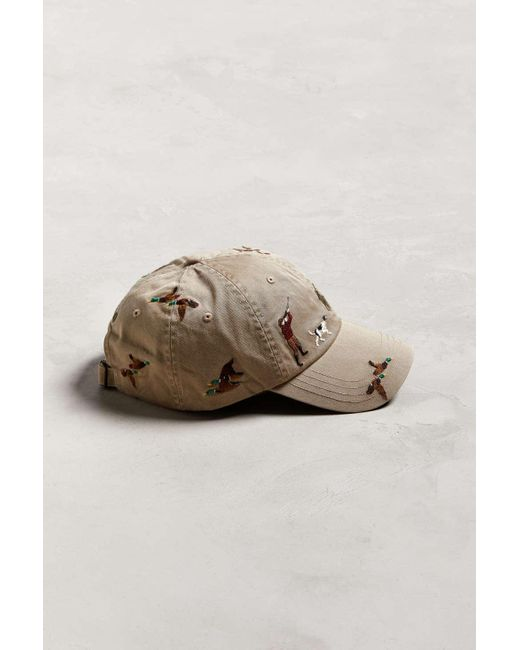 ... Polo Ralph Lauren - Brown Embroidered Classic Sport Baseball Hat for  Men - Lyst ... 104af7d9c306