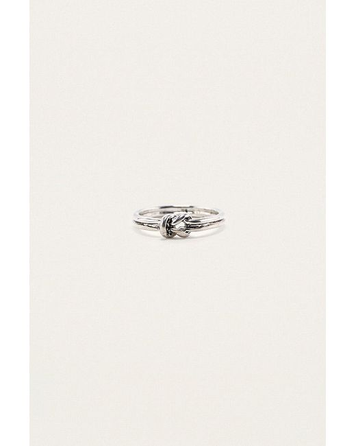 Urban Outfitters | Metallic Knotted Ring | Lyst
