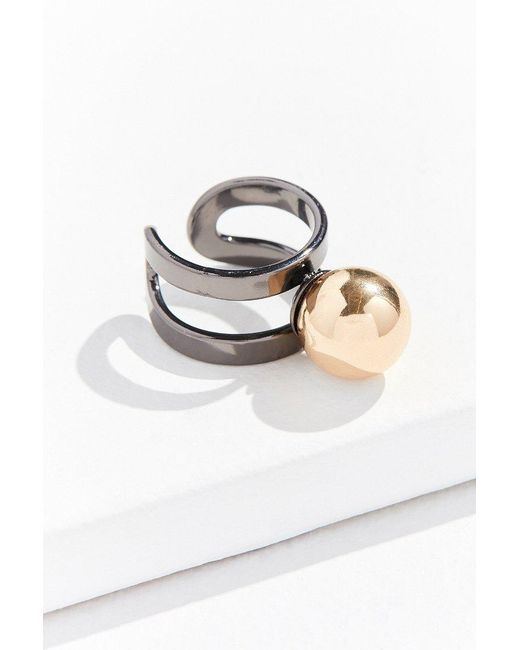 Urban Outfitters | Multicolor Bauble Statement Ring | Lyst