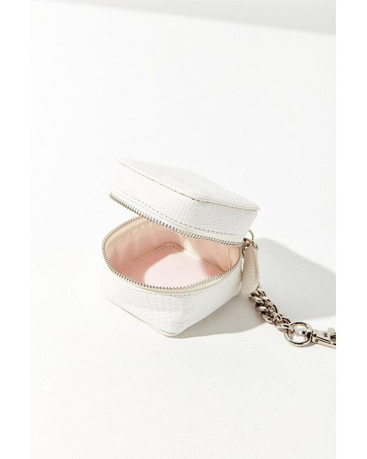 Urban Outfitters - White Box Pouch Keychain - Lyst