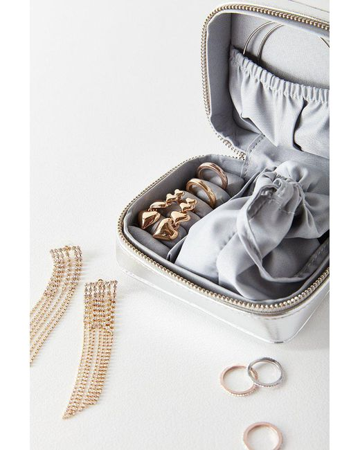 Urban Outfitters - Metallic Travel Jewelry Box - Lyst