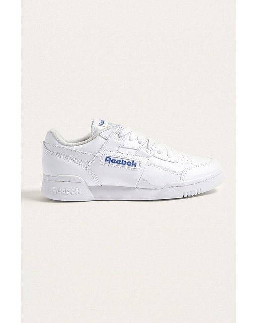 Reebok | Blue Workout Plus Trainers | Lyst
