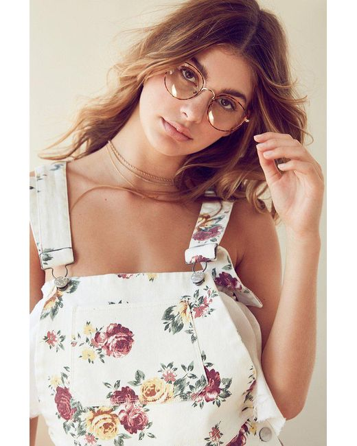 Urban Outfitters   Brown Kendall Round Readers   Lyst