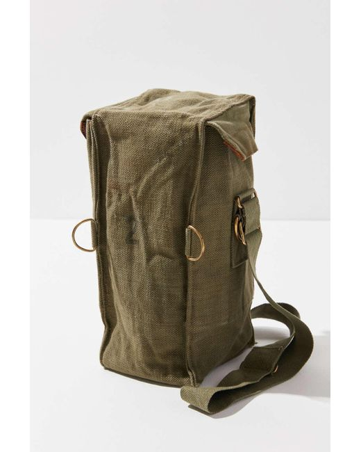 c0c56822e7 ... Urban Renewal - Green Vintage Utility Bottle Bag - Lyst ...