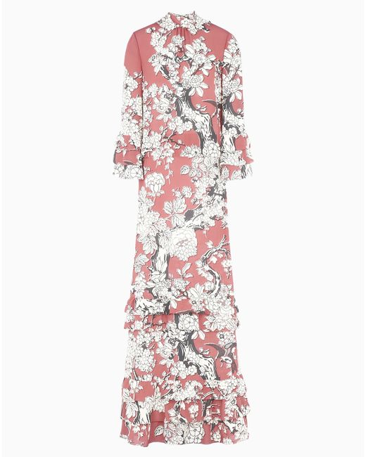 Valentino | Red Floral Vintage Dress | Lyst
