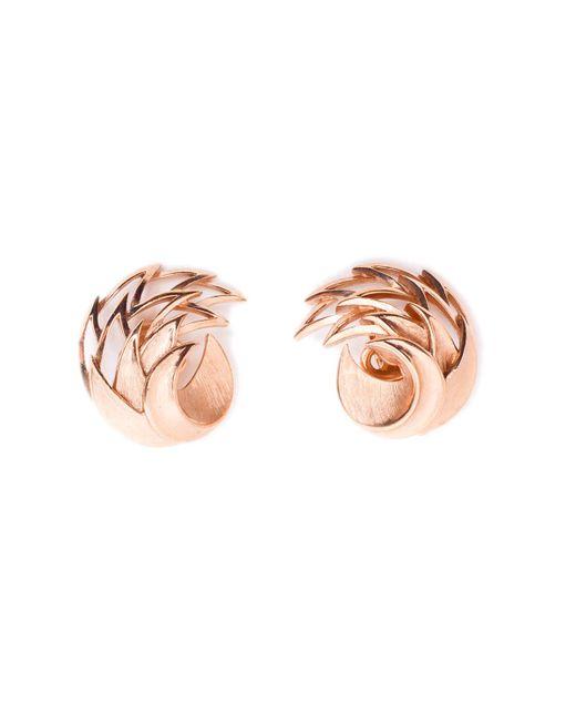 Rarities | Pink Gold Trifari Earrings | Lyst