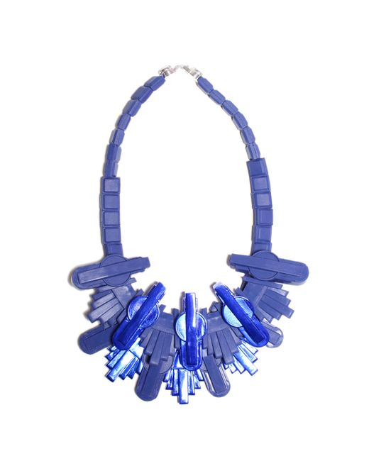 EK Thongprasert | Blue Cityscape Necklace | Lyst