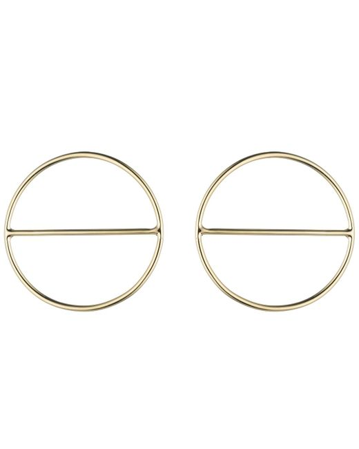 Anndra Neen | Metallic Round Saturn Earrings | Lyst