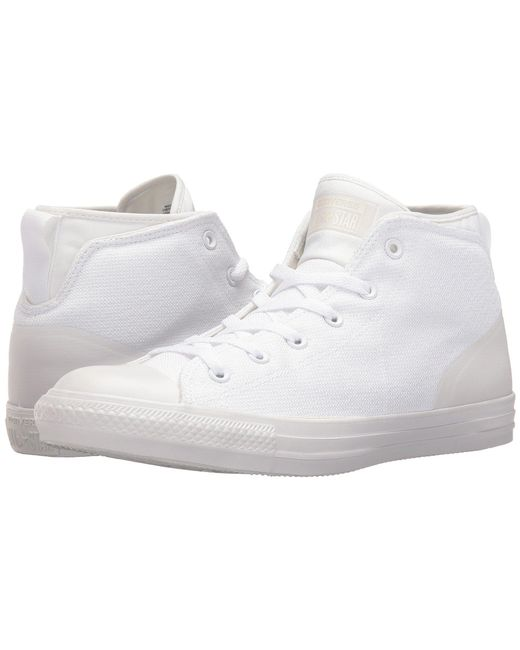 1f7aae1fa22 ... Converse - White Chuck Taylor® All Star® Syde Street Textile Mid - Lyst  ...