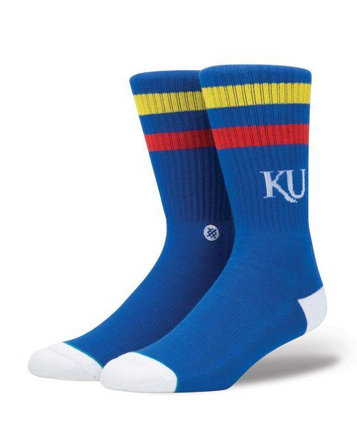 Stance Blue Kansas Jayhawks Logo Socks for men